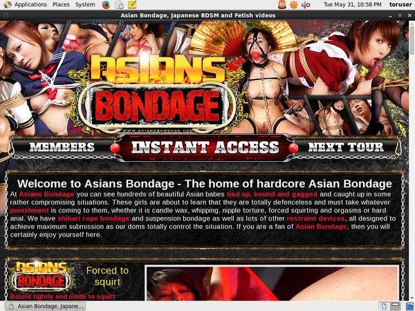 Asiansbondage.com With ECheck