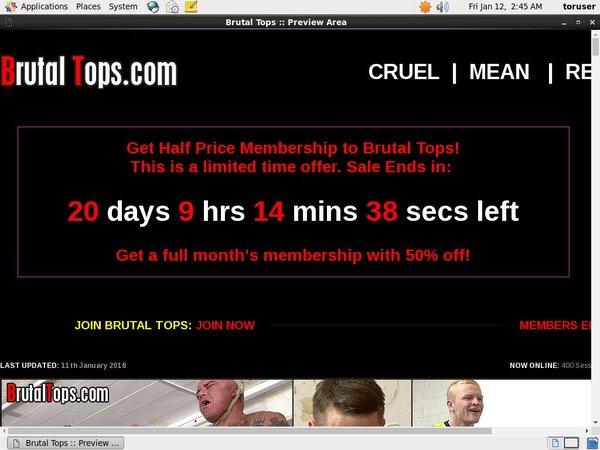 Brutaltops.com Update