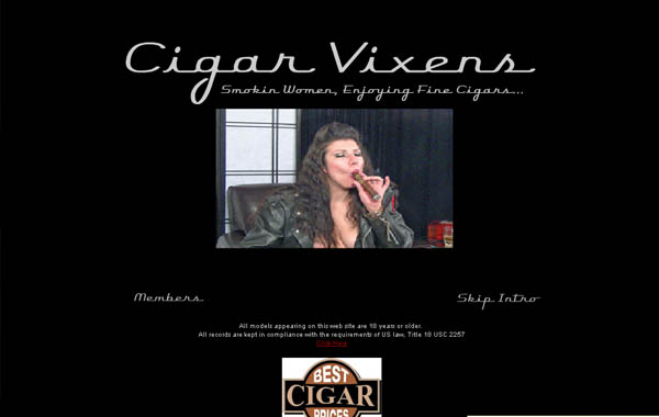 Cigar Vixens With JCB Card