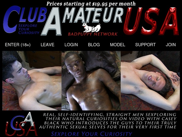 Club Amateur USA Login And Password