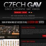 Czech GAV 신용 카드