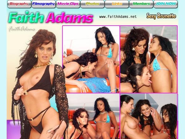 Faith Adams Mit Sofort