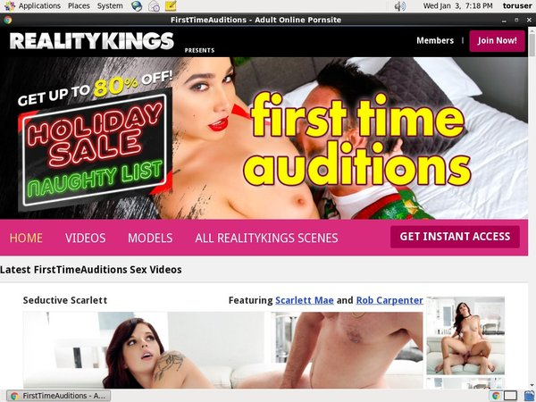 Firsttimeauditions Using Pay Pal