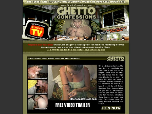 Ghettoconfessions.com With Online Check
