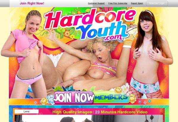 Hardcoreyouth.com Membership