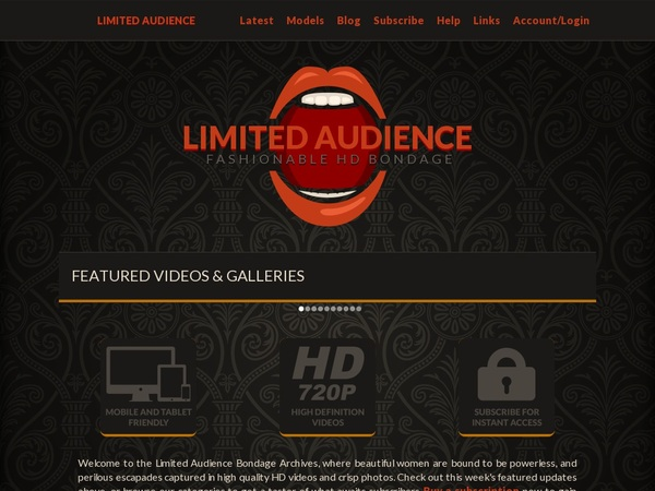 How To Access Limitedaudience