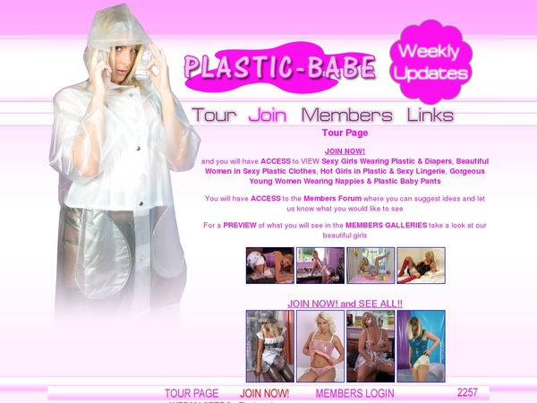 How To Get Free Plastic Babe