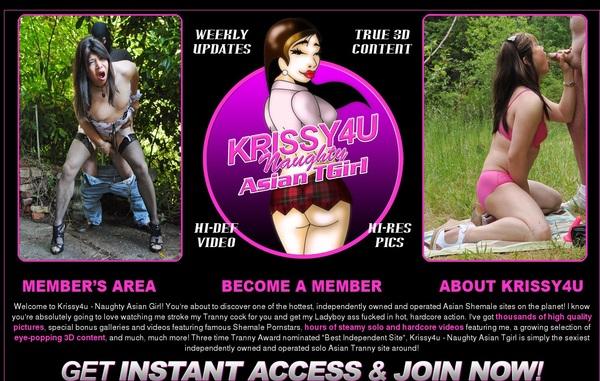 Krissy 4 U Free Memberships