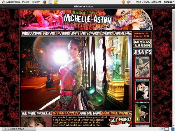 Michelle-aston.com Free Acc