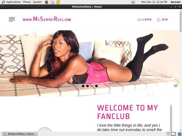 Ms Sammi Ross Buy Membership
