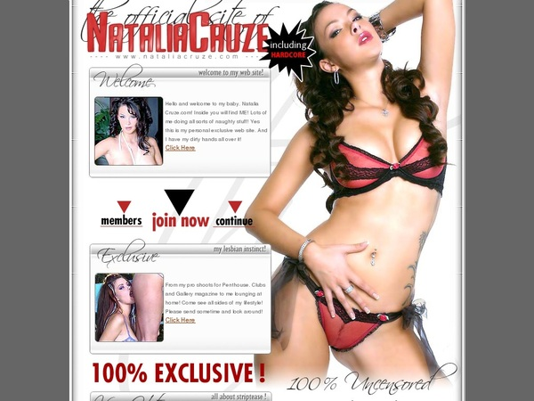 Nataliacruze.com Join By Text Message