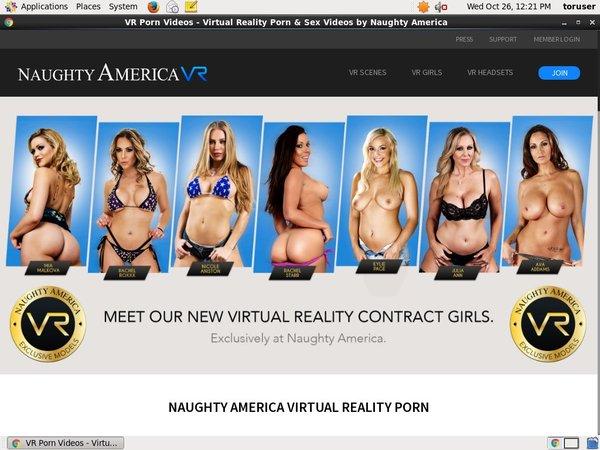 Naughty America VR Working Password