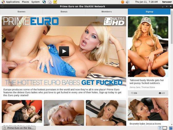 Porn Prime Euro