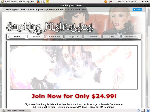 Smoking Mistresses With AOL Account