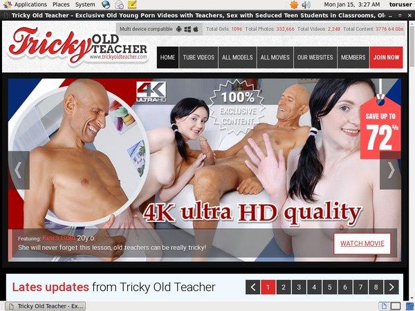 Trickyoldteacher Sofort Zugang