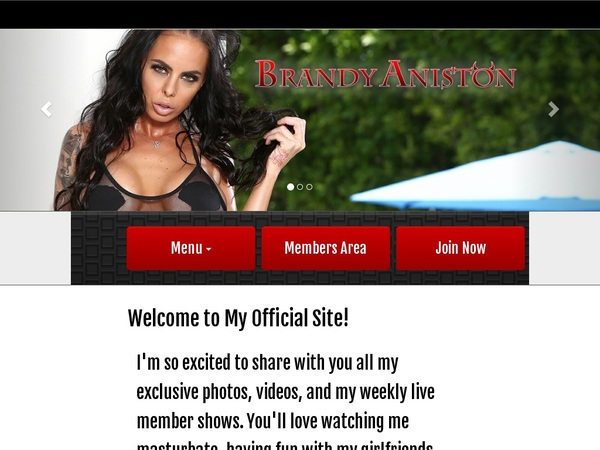 Brandy Aniston Site