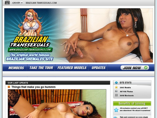Pass Brazilian Transsexuals