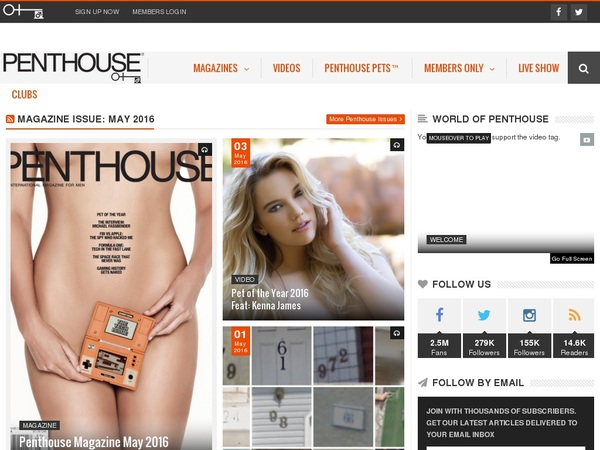 Penthouse With JCB Card