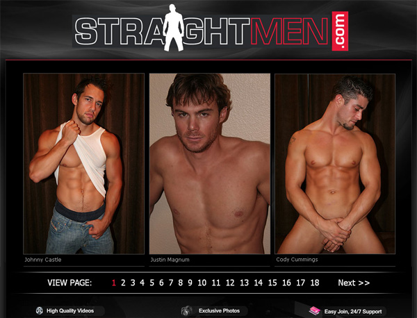 Straightmen.com Account New