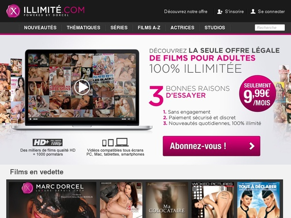 X Illimite Account Free