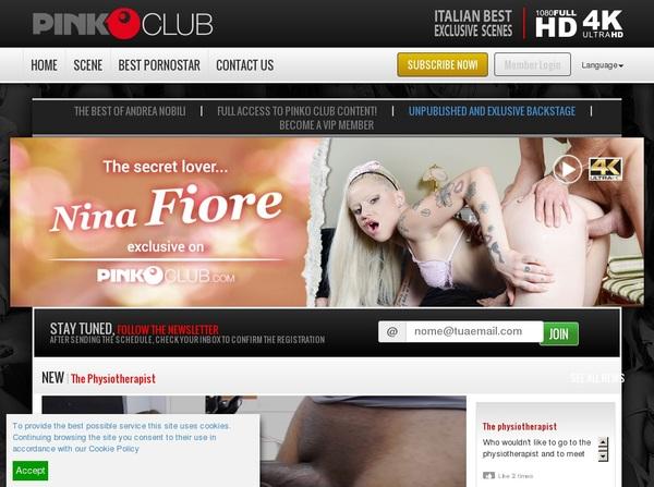 PinkO Club Login Passwords