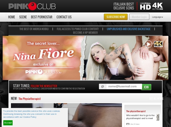 PinkO Club Free Account Password