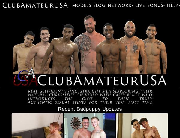 Club Amateur USA 사용자 이름
