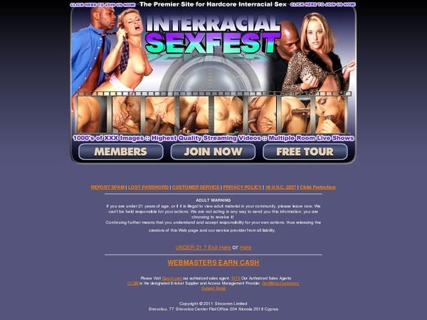 Free Passwords For Interracialsexfest