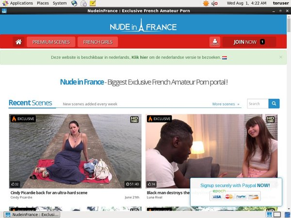 Nude In France Buy Credits