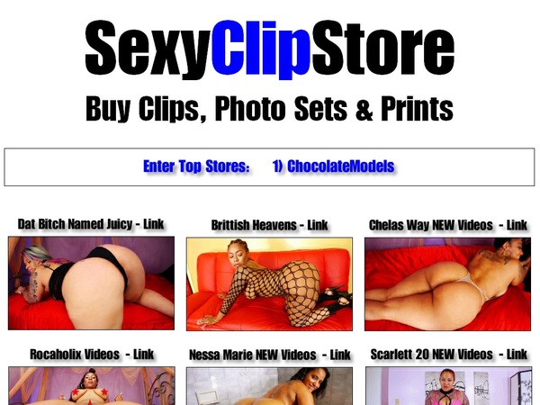 Sexyclipstore With Prepaid Card