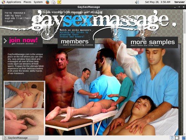 Gay Sex Massage Image Post
