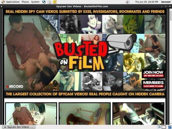 Bustedonfilm Become A Member