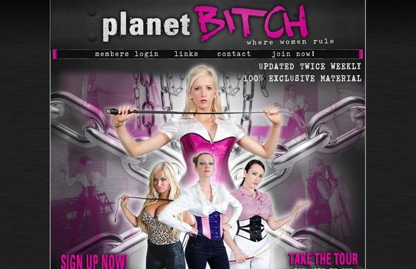 Free Planetbitch.com Login Account