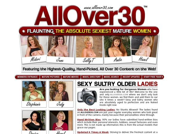 Join Allover30.com With Paypal