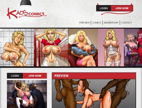 Kaos Comics Without CC
