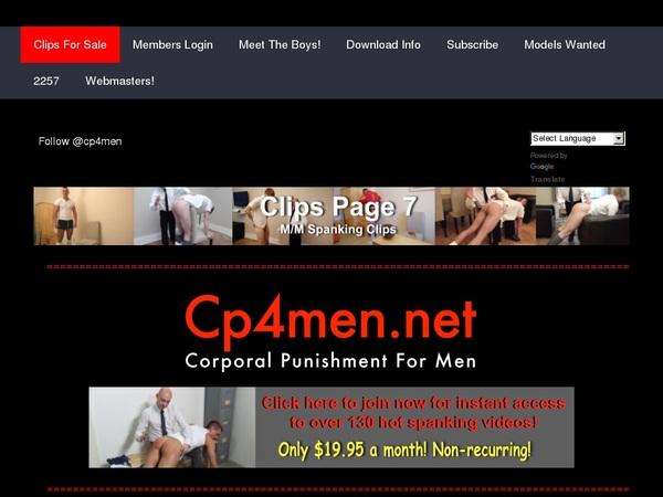 Free CP 4 Men User