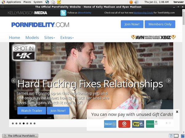 Porn Fidelity Without Card